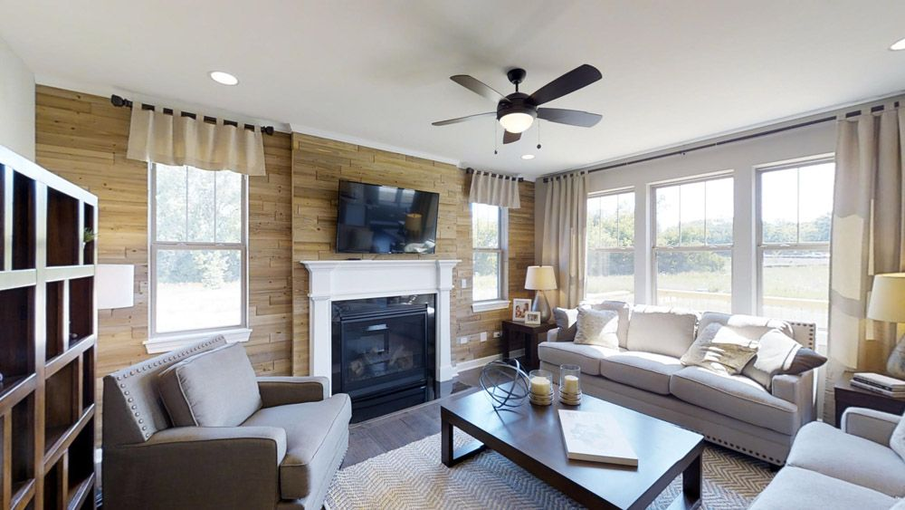 Living Area featured in the Jericho II By William Ryan Homes in Madison, WI