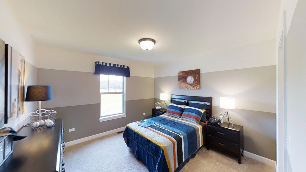Bedroom featured in the Jericho II By William Ryan Homes in Madison, WI