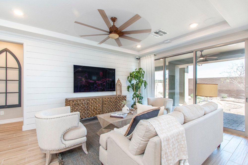 Living Area featured in the Sedona By William Ryan Homes in Phoenix-Mesa, AZ