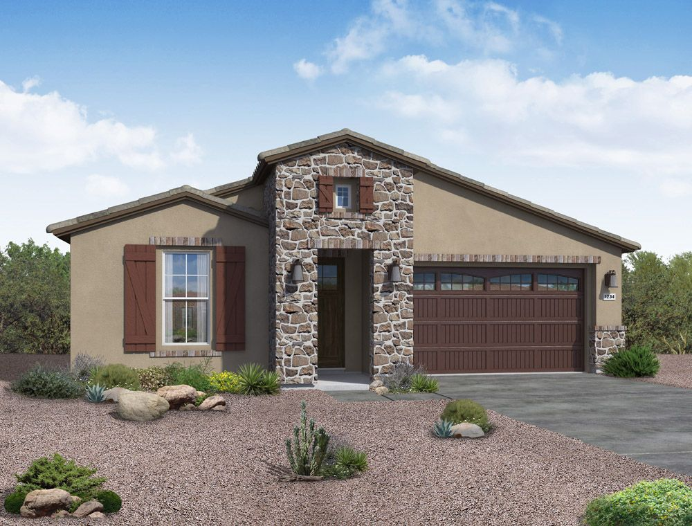 Exterior featured in the Jimson By William Ryan Homes in Phoenix-Mesa, AZ