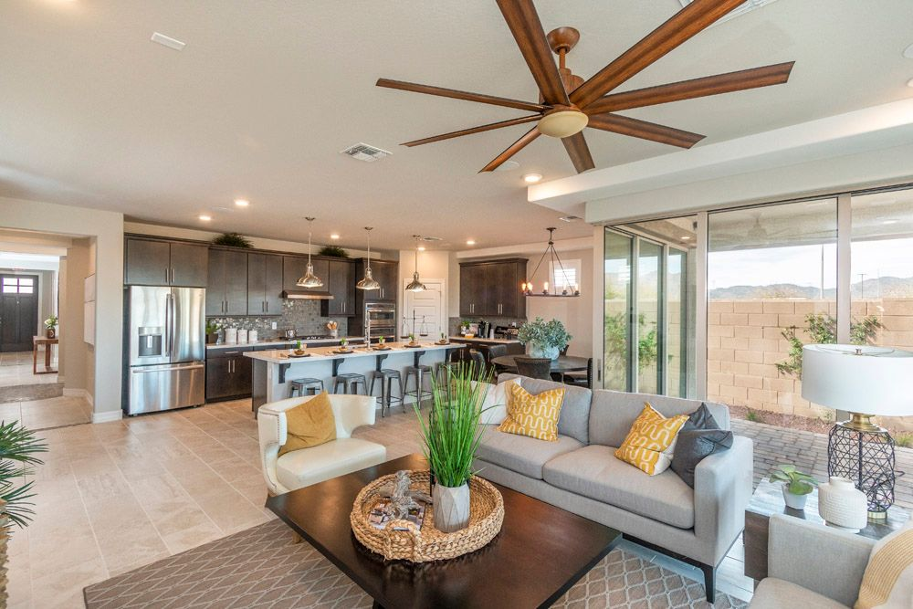Living Area featured in the Jimson By William Ryan Homes in Phoenix-Mesa, AZ