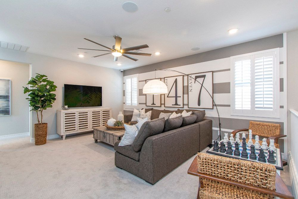 Living Area featured in the Sierra By William Ryan Homes in Phoenix-Mesa, AZ