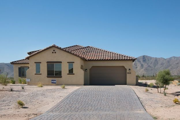 8424 N 194th Drive Waddell AZ 85335 spanish elevation driveway garage view Joyce quick move in So...:8424 N 194th Drive - Joyce - Quick Move In Home - Spanish Elevation - Driveway