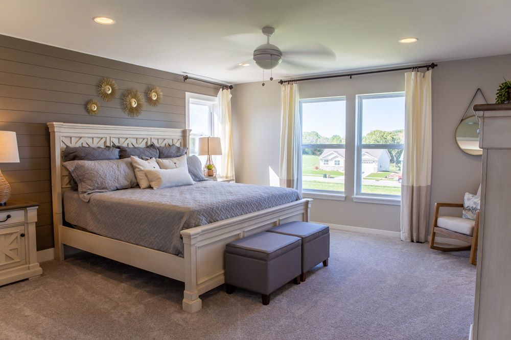 Bedroom featured in the Fordham II By William Ryan Homes in Madison, WI