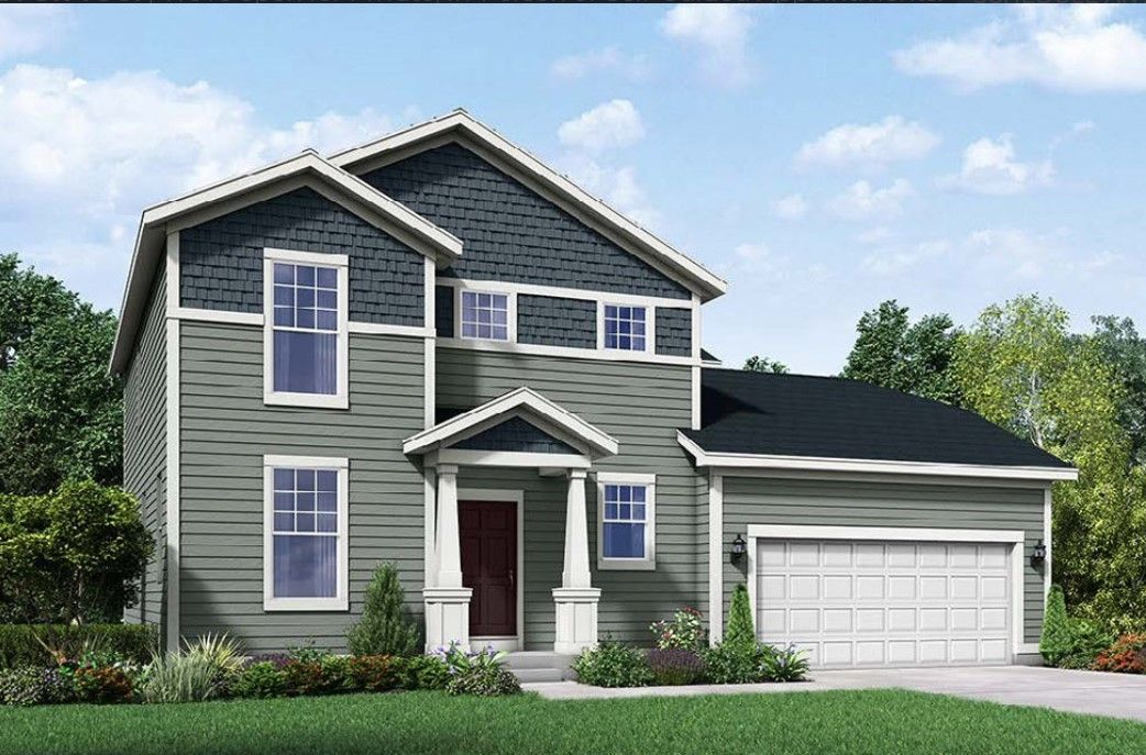 Exterior featured in the Fordham II By William Ryan Homes in Madison, WI