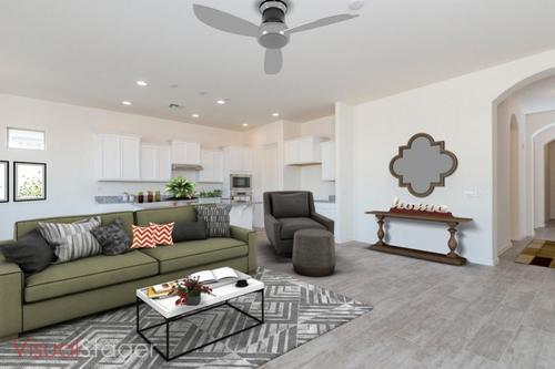 Greatroom-and-Dining-in-The Crenshaw-at-Golf Ridge at Estrella-in-Goodyear