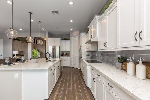 Kitchen-in-Aqua-at-Cordoba at Montecito in Estrella-in-Goodyear