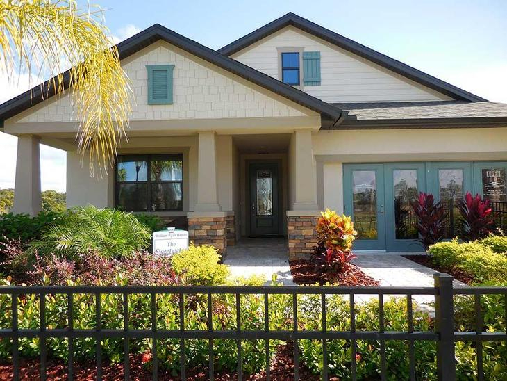 Bell Creek Preserve - Sweetwater Model Home - William Ryan Homes Tampa:Sweetwater Model Home - Welcome! Come On In