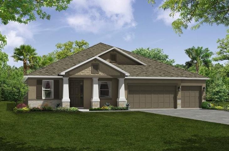 Jensen Elevation 2 William Ryan Homes Tampa:Jensen - Elevation 2