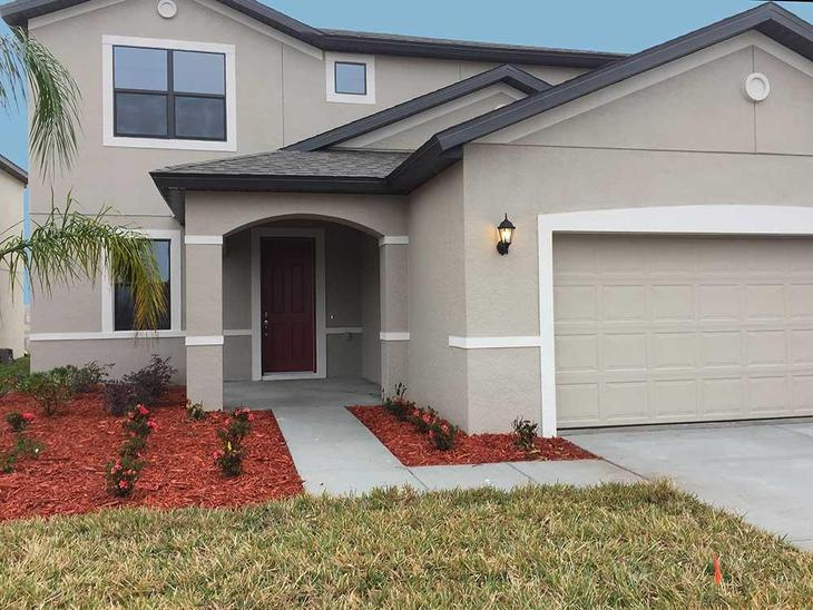 2195 Ontario Way Saratoga Front Exterior William Ryan Homes Tampa:2195 Ontario Way - Saratoga - Front Exterior