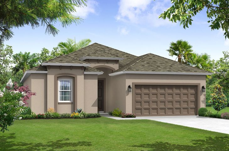 Sweetwater Tuscan elevation 2 William Ryan Homes Tampa:Sweetwater - Tuscan - Elevation 2