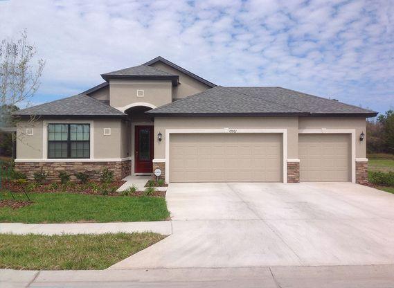 Sanibel 3 Car Garage Plan Land O Lakes Florida 34638 Sanibel 3