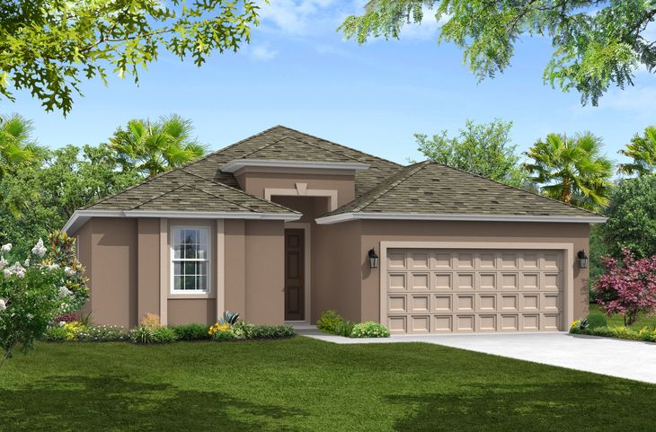 Juno Elevation 1 William Ryan Homes Tampa:Juno - Elevation 1