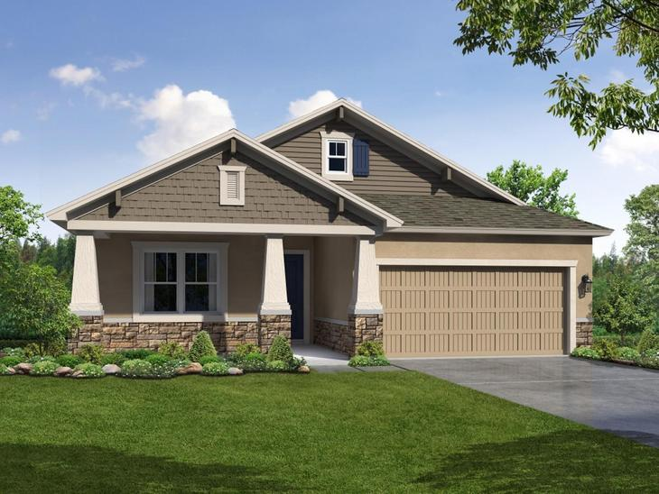 12129 Creek Preserve Drive Riverview FL 33579 New Construction Home For Sale Bell Creek Preserve ...:12129 Creek Preserve Drive - Sweetwater - Craftsman-Style Elevation