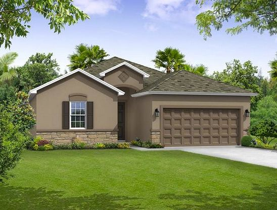 Sweetwater elevation 1 William Ryan Homes Tampa:Sweetwater - Elevation 1
