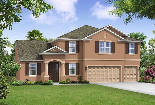 Jeppeson elevation 1 William Ryan Homes Tampa:Jeppeson - Elevation 1