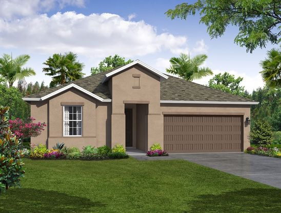 Casey Key elevation 1 Tuscan William Ryan Homes Tampa:Casey Key - Elevation 1 - Tuscan