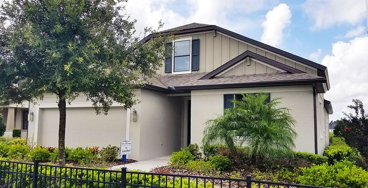 19642 Hidden Glen Drive Land O Lakes FL 34638 quick move in home for sale LakeShore Ranch William...:19642 Hidden Glen Drive - Sanibel Model Home for Sale - Front Exterior