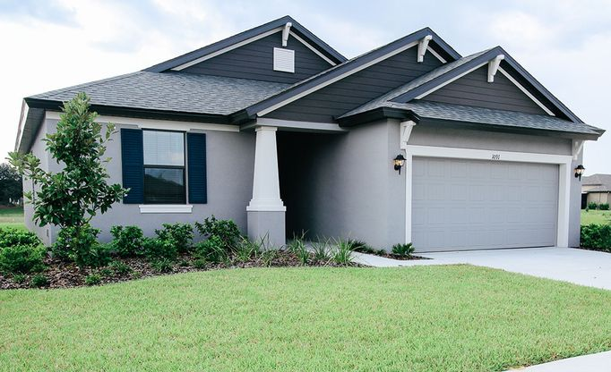 1091 Old Windsor Way Spring Hill FL 34609 new home for sale William Ryan Homes Tampa:1091 Old Windsor Way  - Sweetwater - Coastal Elevation