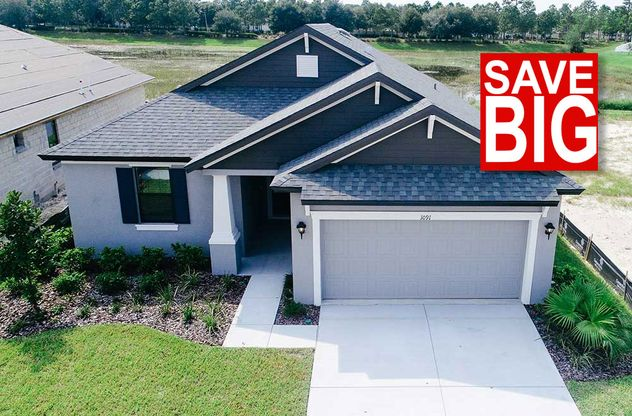 1091 Old Windsor Way Spring Hill FL 34609 Sweetwater quick move in home front exterior William Ry...:1091 Old Windsor Way - Save BIG - Sweetwater - Quick Move-in Home for Sale