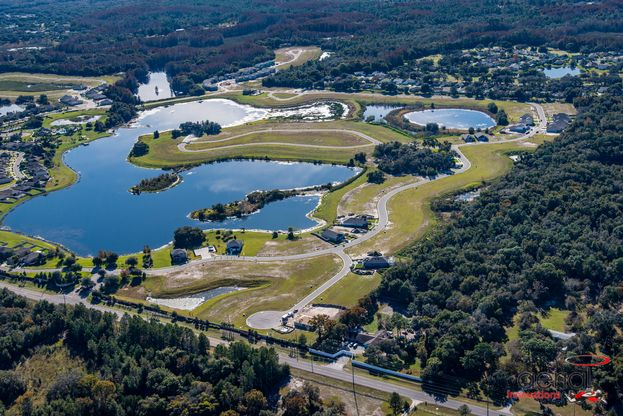 Lakeside a new home community in Hudson FL aerial December 2019 William Ryan Homes Tampa:Lakeside  - New Home Community in Hudson FL - Aerial - December 2019