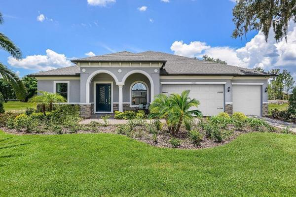 Somerton Place at the Villages of Avalon new homes for sale in Spring Hill FL by William Ryan Hom...:Somerton Place at the Villages of Avalon - Joyce - Front Exterior