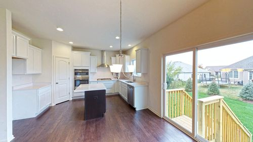 Kitchen-in-Fordham II-at-Timber View Estates-in-Waukesha