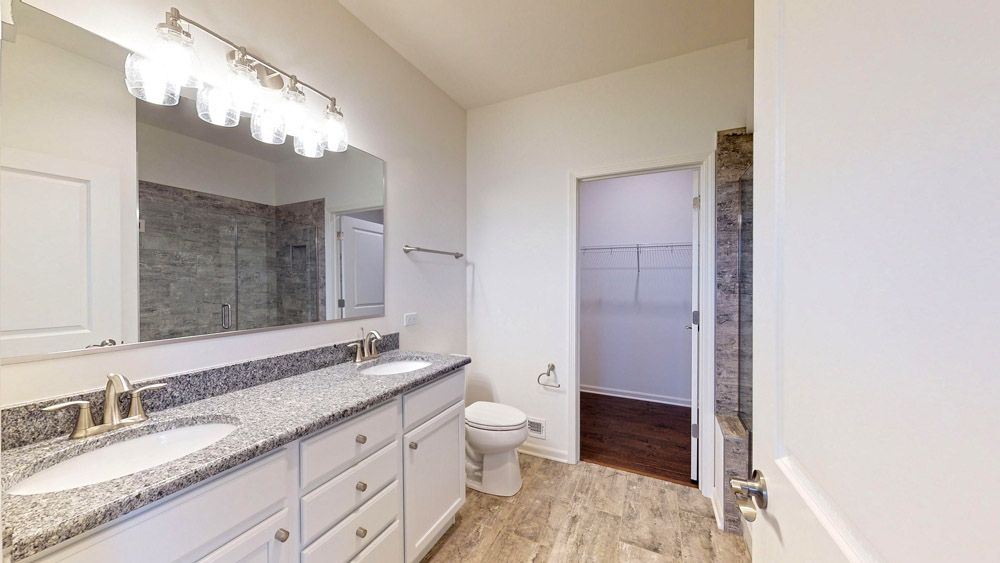 Bathroom featured in the Cape May By William Ryan Homes in Chicago, IL