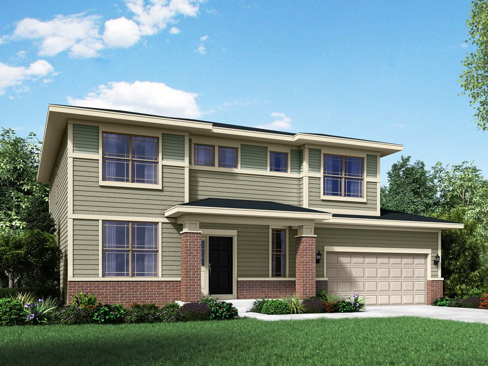 Exterior featured in the Sheridan II By William Ryan Homes in Chicago, IL