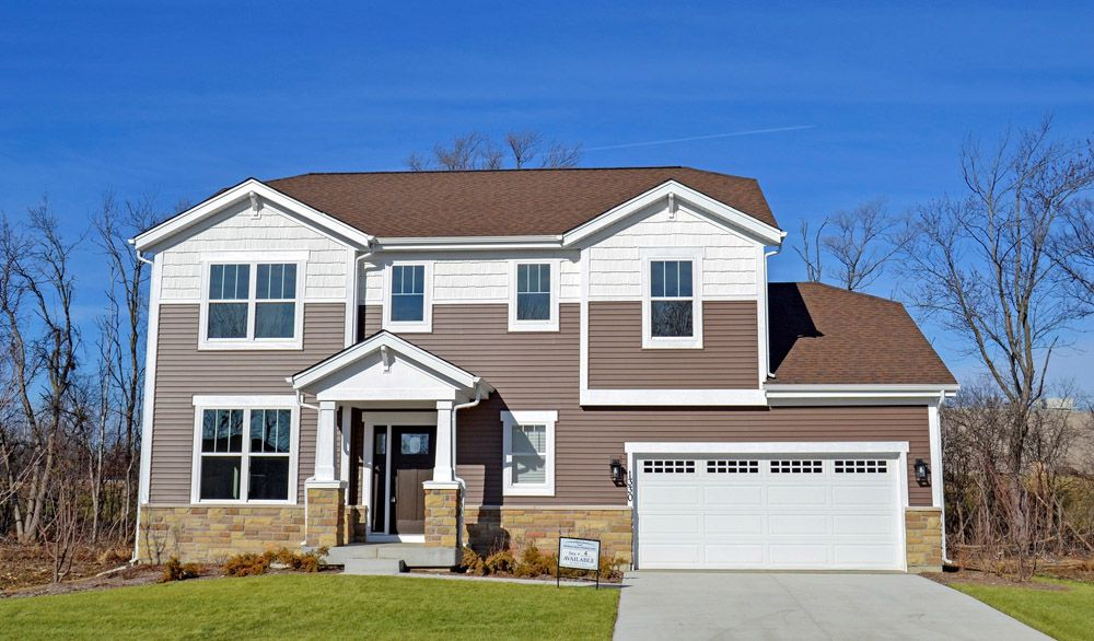 Exterior featured in the Sheridan II By William Ryan Homes in Milwaukee-Waukesha, WI