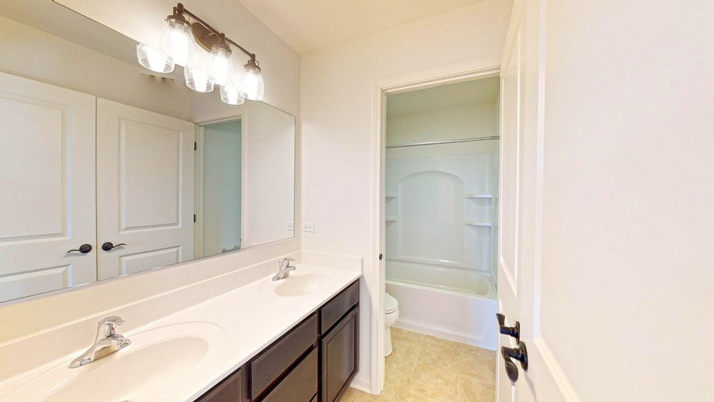 Bathroom featured in the Sheridan II By William Ryan Homes in Chicago, IL