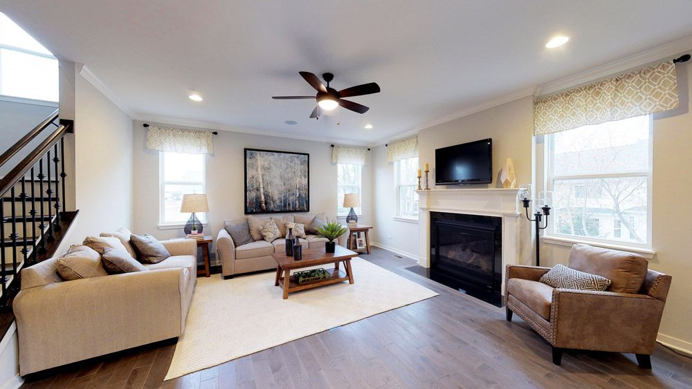 Living Area featured in the Sulton By William Ryan Homes in Milwaukee-Waukesha, WI