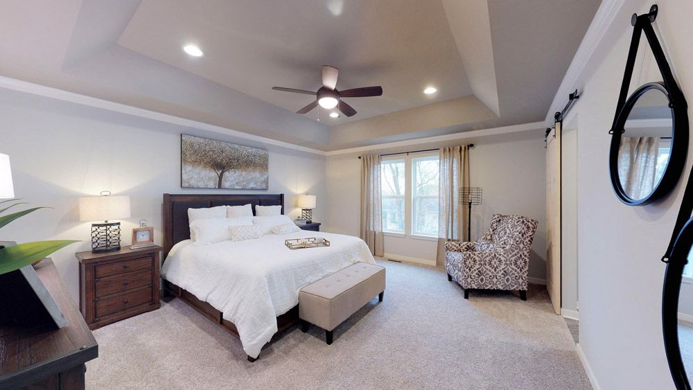 Bedroom featured in the Sulton By William Ryan Homes in Chicago, IL