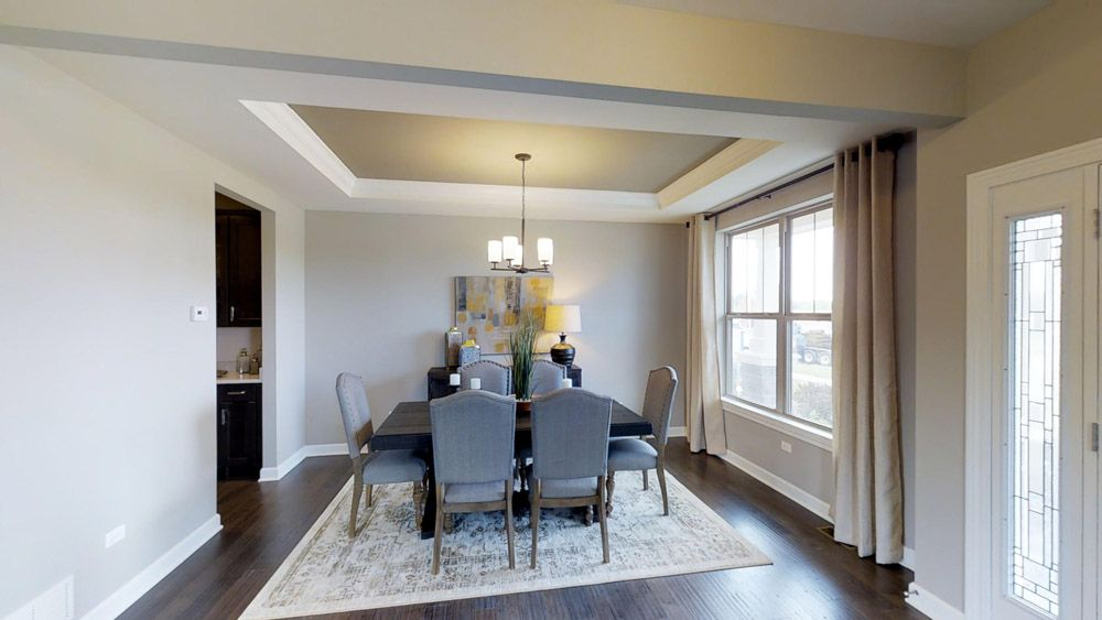 Living Area featured in the Jericho II By William Ryan Homes in Milwaukee-Waukesha, WI