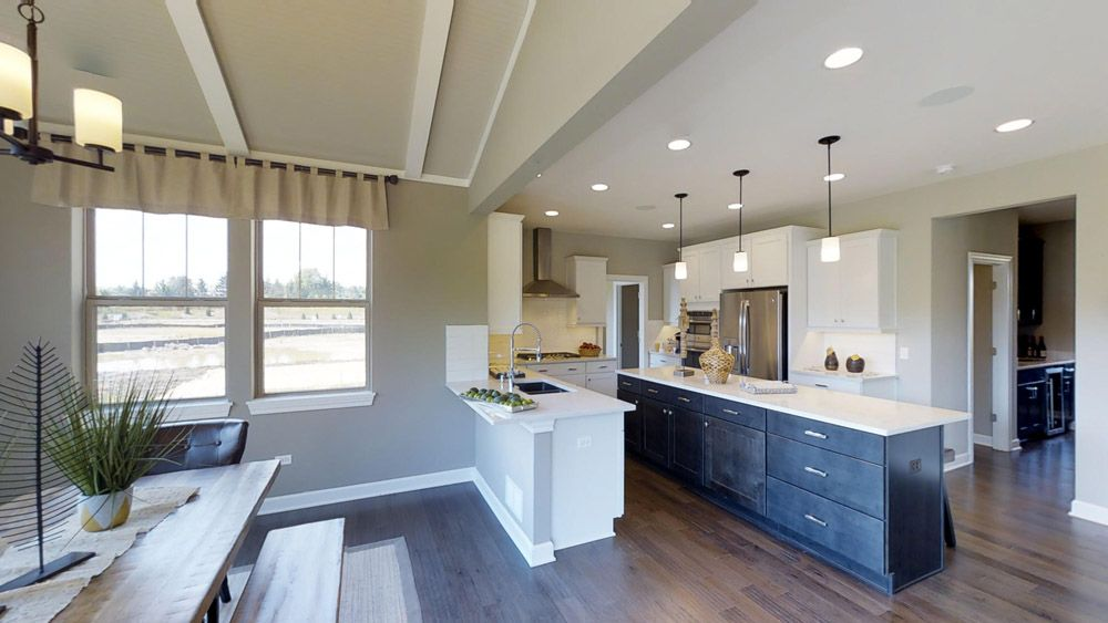 Kitchen featured in the Jericho II By William Ryan Homes in Chicago, IL