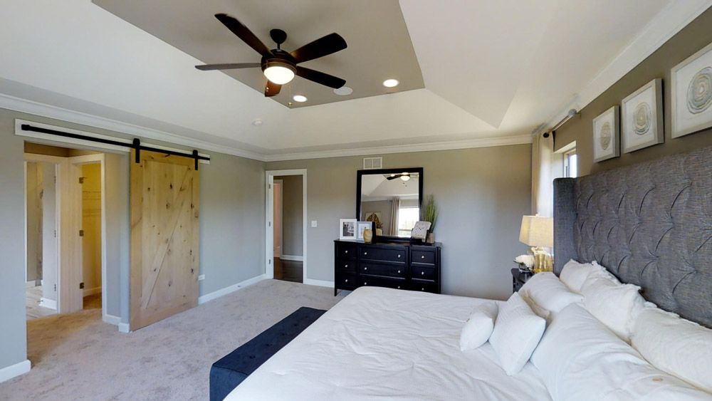 Bedroom featured in the Jericho II By William Ryan Homes in Chicago, IL