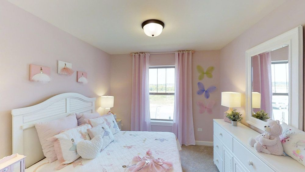Bedroom featured in The Jericho II - Stonebridge By William Ryan Homes in Chicago, IL