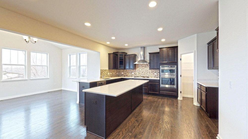 Kitchen featured in the Jensen II By William Ryan Homes in Milwaukee-Waukesha, WI