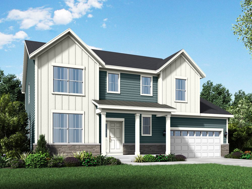 Exterior featured in The Sheridan II - Stonebridge By William Ryan Homes in Chicago, IL