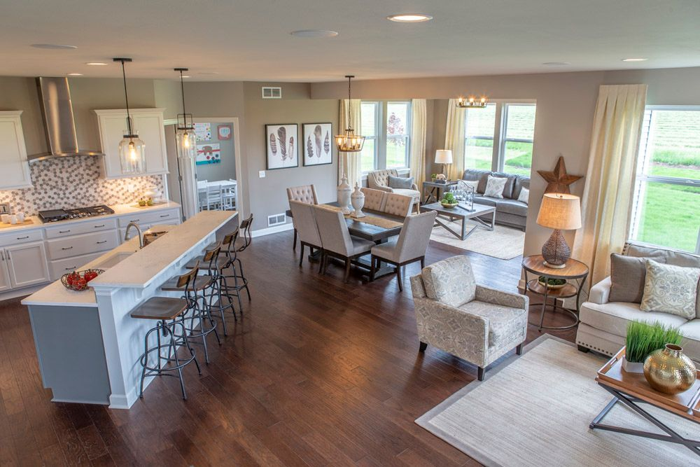 Living Area featured in The Sulton - Stonebridge By William Ryan Homes in Chicago, IL
