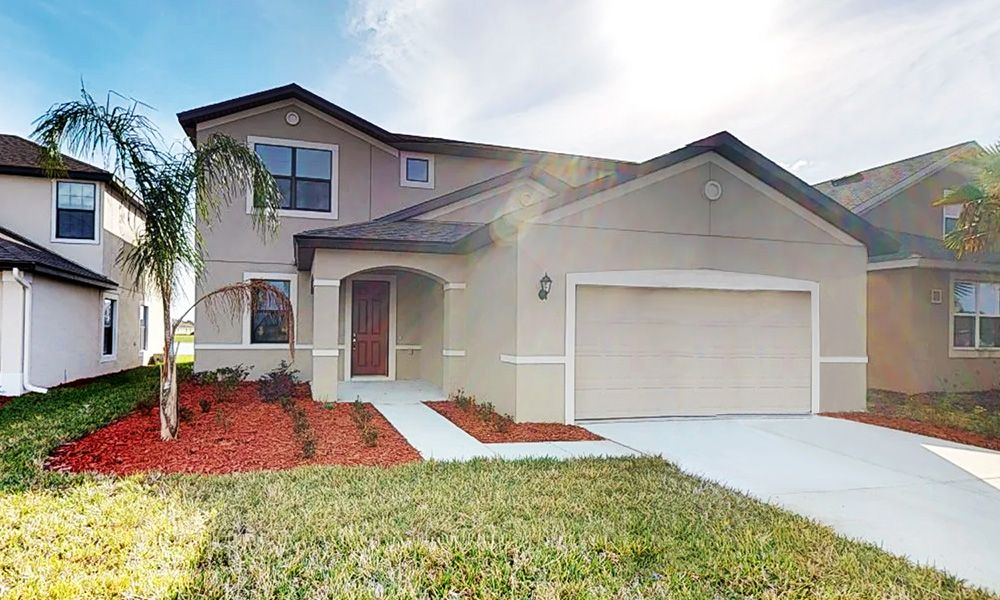 Exterior featured in the Saratoga By William Ryan Homes in Tampa-St. Petersburg, FL