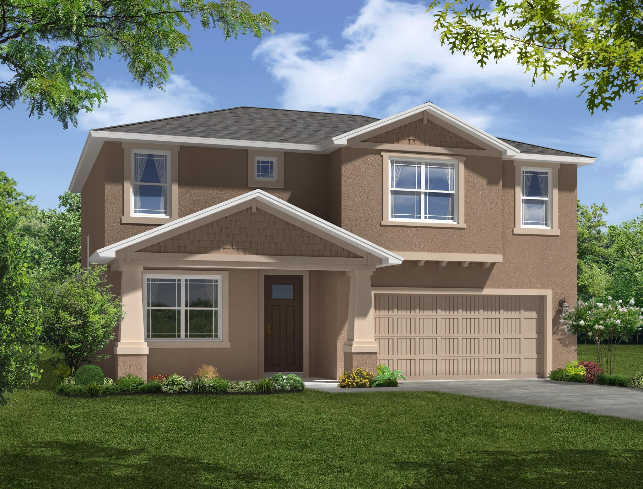 Exterior featured in the Sandalwood By William Ryan Homes in Tampa-St. Petersburg, FL