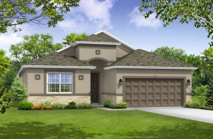 Exterior featured in the Sanibel 3-Car Garage By William Ryan Homes in Tampa-St. Petersburg, FL