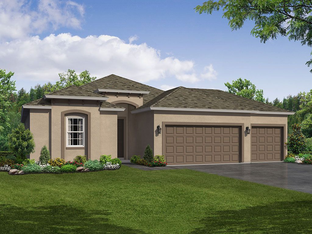 Exterior featured in the Sweetwater 3-Car Garage By William Ryan Homes in Tampa-St. Petersburg, FL