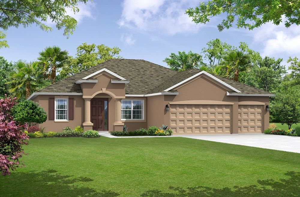 Exterior featured in the Canaveral By William Ryan Homes in Tampa-St. Petersburg, FL