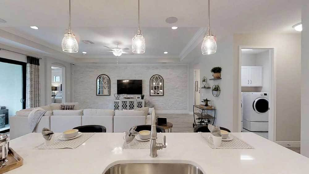 Kitchen featured in the Sandalwood By William Ryan Homes in Tampa-St. Petersburg, FL