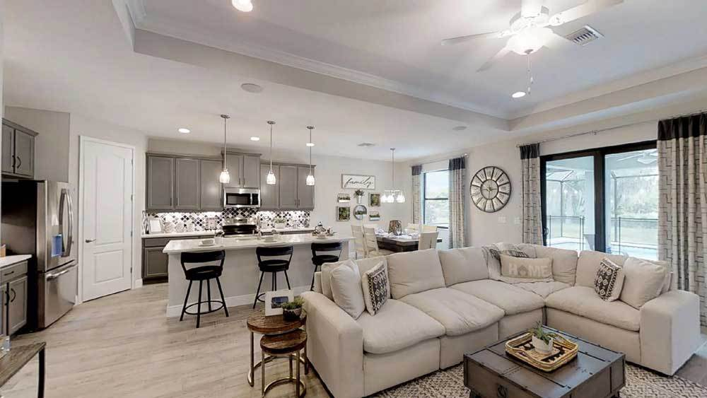 Living Area featured in the Sandalwood By William Ryan Homes in Tampa-St. Petersburg, FL