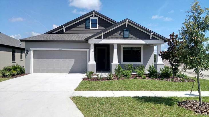 13279 Sea Bridge Drive Hudson FL 34669 new home for sale at Lakeside the Sweetwater front exterio...:13279 Sea Bridge Drive - Sweetwater Craftsman-Style - Front Exterior
