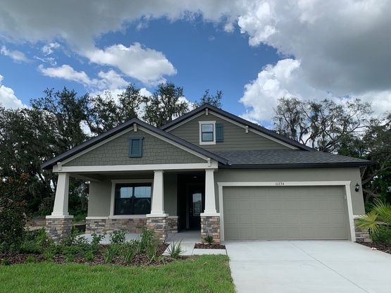 11234 Paddock Manor Ave Riverview FL 33569 quick move in home for sale by William Ryan Homes Tampa:11234 Paddock Manor Ave - Craftsman-Style Sweetwater Quick Move-In Home