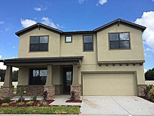 Exterior featured in the Juniper-FL By William Ryan Homes in Tampa-St. Petersburg, FL